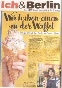 BZ about Berlin Ice Cream Week 2020