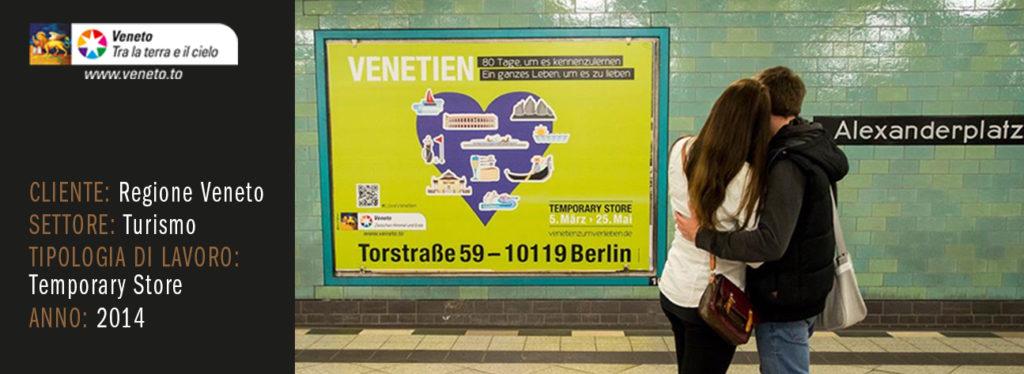 Temporary shop VENETIEN