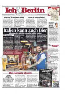 BZ about Birra opening 2016