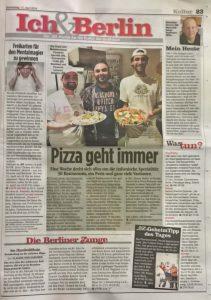 BZ about True Italian Pizza Week 2018